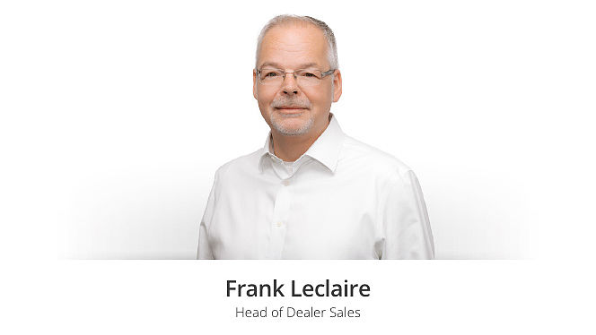Frank Leclaire, Head of Dealer Sales bei Modix.