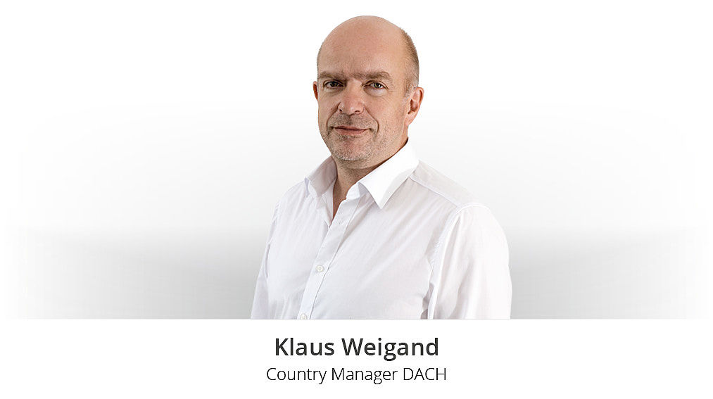 Klaus Weigand, Country Manager DACH bei Modix.